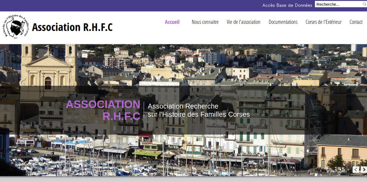 Réalisation site internet marseille - dgwdesign - Association RHFC - Marseille